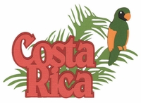 International: Costa Rica Laser Die Cut