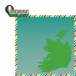 Ireland: Adventures 2 Piece Laser Die Cut Kit