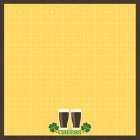 Ireland: Eat, Drink be Irish 12 x 12 Paper