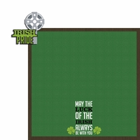 Ireland: Irish Pride 2 Piece Laser Die Cut Kit