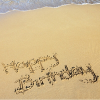 It's your Birthday: Birthday at the Beach 12 x 12 Paper