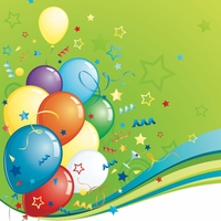 It's your Birthday: Birthday Balloons 12 x 12 Paper