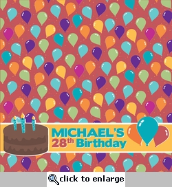 It's Your Birthday Custom 12 x 12 Paper