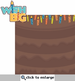 It's Your Birthday: Wish Big 2 Piece Laser Die Cut Kit