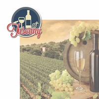 Italian Adventures: Tuscany 2 Piece Laser Die Cut Kit