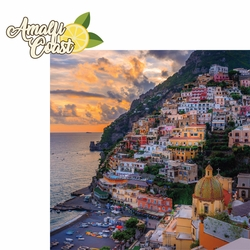 Italy: Amalfi Coast 2 Piece Laser Die Cut Kit