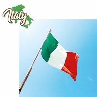 Italy: Italy 2 Piece Laser Die Cut Kit