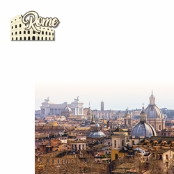 Italy: Rome 2 Piece Laser Die Cut Kit