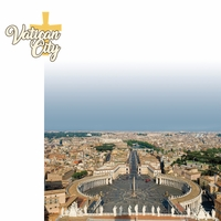 Italy: Vatican City 2 Piece Laser Die Cut Kit