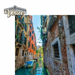 Italy: Venice 2 Piece Laser Die Cut Kit