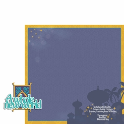 Jasmine: New World 2 Piece Laser Die Cut Kit