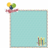 July: Birthday 2 Piece Laser Die Cut Kit
