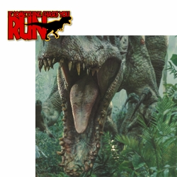 Jurassic World: If Something Chases You� Run! 2 Piece Laser Die Cut Kit