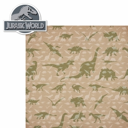 Jurassic World: Jurassic World 2 Piece Laser Die Cut Kit