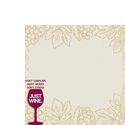 Just Wine 2 Piece Laser Die Cut Kit