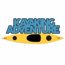 Kayak: Kayak Adventure Die Cut