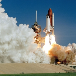 Kennedy Space Center: Shuttle Launch 12 x 12 Paper