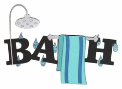 Kids: Bath Laser Die Cut