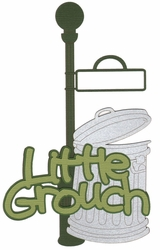 1SYT Kids: Little Grouch Laser Die Cut