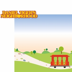 Kids Shows: Daniel Tiger 2 Piece Laser Die Cut Kit