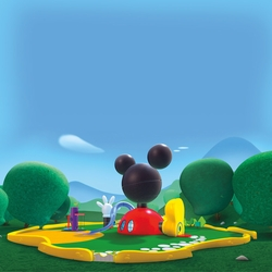 Kids Shows: Mickey Mouse Clubhouse 12 x 12 Paper