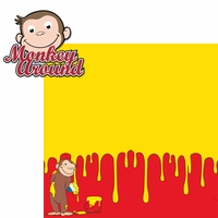 Kids Shows: Monkey Around 2 Piece Laser Die Cut Kit