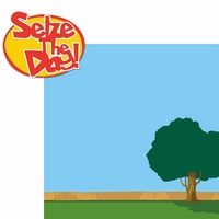 Kids Shows: Seize The Day 2 Piece Laser Die Cut Kit