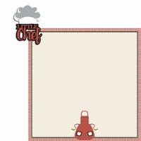 Kiss the Cook: Little Chef 2 Piece Laser Die Cut Kit