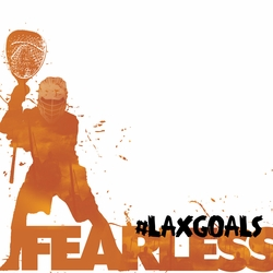 1SYT LaCrosse: Fearless Half 12 x 12 Paper
