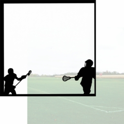 1SYT Lacrosse: The Big Game 12 x 12 Overlay Quick Page Laser Die Cut