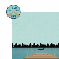 Lake: Lake Life 2 Piece Laser Die Cut Kit