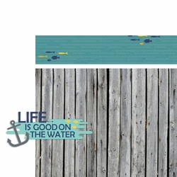 Lake: Life is Good 2 Piece Laser Die Cut Kit