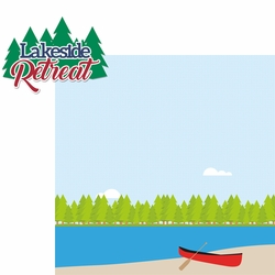 Lake Life: Lakeside Retreat 2 Piece Laser Die Cut Kit
