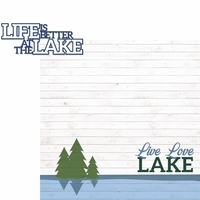 Lake Life: Life Is Better 2 Piece Laser Die Cut Kit