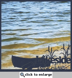 Lakeside Adventures 12 x 12 Overlay Quick Page