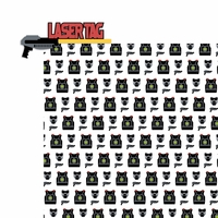 Laser Tag: Laser Tag 2 Piece Laser Die Cut Kit