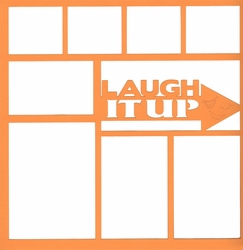 Laugh It Up 12 x 12 Overlay Laser Die Cut