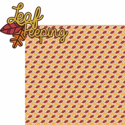 2SYT Leaf Peeping: Leaf Peeping 2 Piece Laser Die Cut Kit