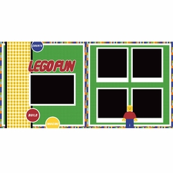 Lego 2 Page Layout Kit