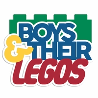Lego: Boys and their Legos Laser Die Cut