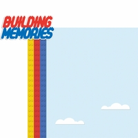 Lego Mania: Building Memories 2 Piece Laser Die Cut Kit