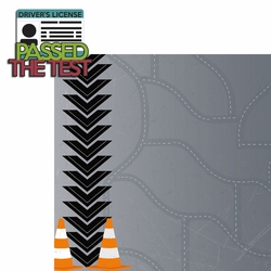 License To Drive: Passed 2 Piece Laser Die Cut Kit