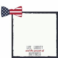 Life, Liberty, Happiness 2 Piece Laser Die Cut Kit