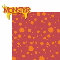Lil Monsters: Lil Monster 2 Piece Laser Die Cut Kit
