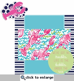 Lily: Bubbles 2 Piece Laser Die Cut Kit