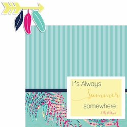 Lily: Summer 2 Piece Laser Die Cut Kit