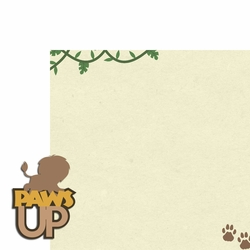 Lion: Paws Up 2 Piece Laser Die Cut Kit