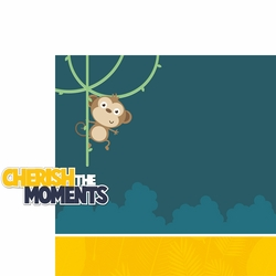 Little Monkey: Cherish The Moments 2 Piece Laser Die Cut Kit
