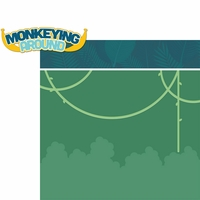 Little Monkey: Monkeying Around 2 Piece Laser Die Cut Kit