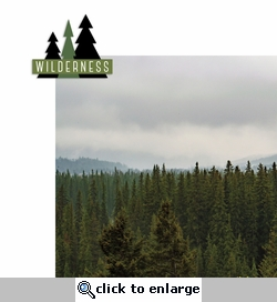 Live Life: Wilderness 2 Piece Laser Die Cut Kit